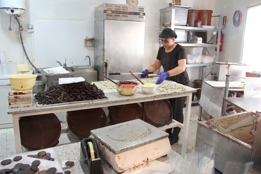 Proceso de elaboración del chocolate natural
